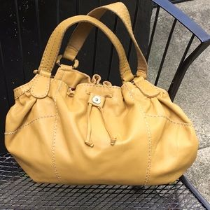 Lucky Brand leather tote/hobo